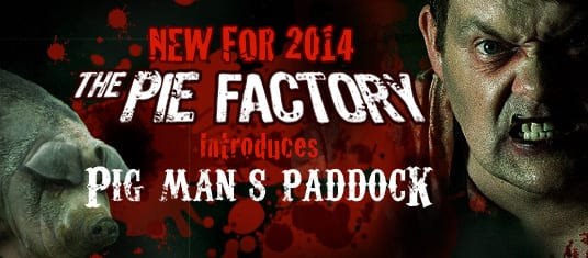 Pie Factory Introduces Pig Man's Paddock